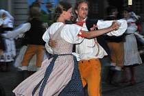 XXI. mezinárodní folklorní festival Setkání s folklorem v ulicích Hradce Králové (pátek 20. srpna 2010).