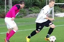 Juniorská liga ve fotbale - tým FC Hradec Králové v akci.
