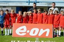 Desetiletí fotbalisté Nového Hradce Králové na turnaji E.ON Cup.