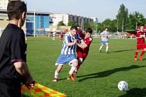 Krajská fotbalová I. A třída: TJ Sokol Třebeš - SK Třebechovice pod Orebem.