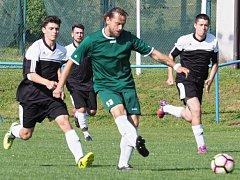 Okresní fotbalová IV. třída: Libřice - Hořiněves.
