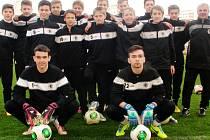 Fotbalový tým FC Hradec Králové U15.