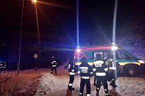 Záchrana tonoucích osob v polské obci Lewin Klodzki.