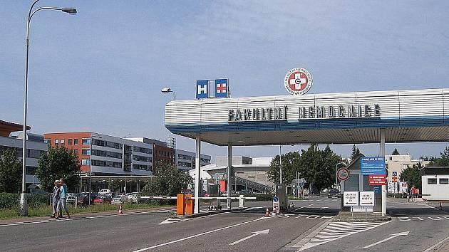 Fakultní nemocnice Hradec Králové. Ilustrační fotografie.