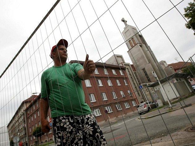 Zahájení rekonstrukce náměstí 28. října v Hradci Králové.