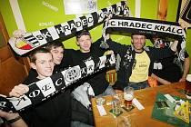 Velký den prožili 24. února příznivci fotbalistů FC Hradec Králové. V restauraci U Černého koně se setkali se svými oblíbenci.