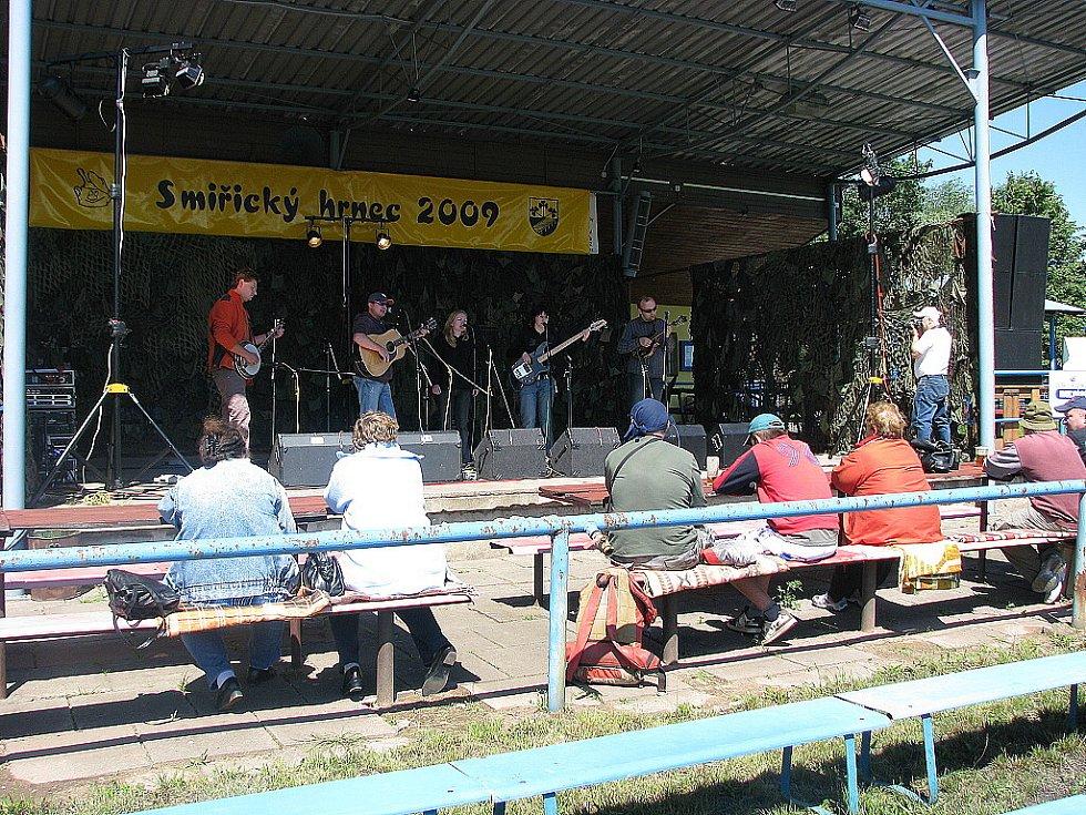 Smiřický hrnec 2009: vystoupení skupiny Grassroad