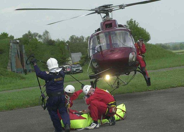 Využití vrtulníku ve zdravotnictví