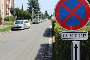 Další etapa oprav silnice omezí dopravu v okolí Úprkovy ulice do konce letošního listopadu.