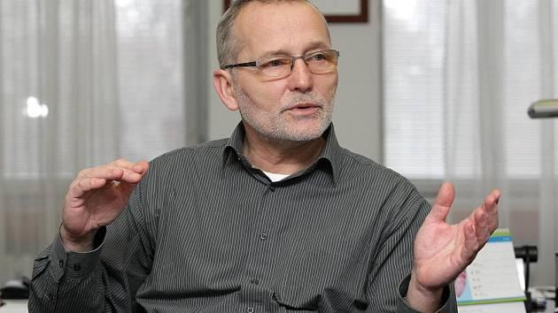 Primátor Hradce Králové Zdeněk Fink.