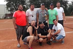 Tenisový turnaj hokejových legend: Kudrna zpět na trůnu