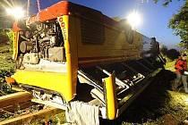 Nehoda autobusu z východních Čech v Německu