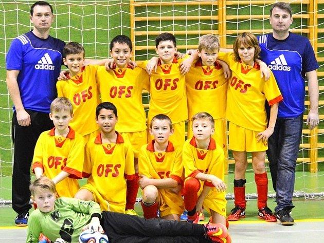 Výběr OFS Hradec Králové U11.