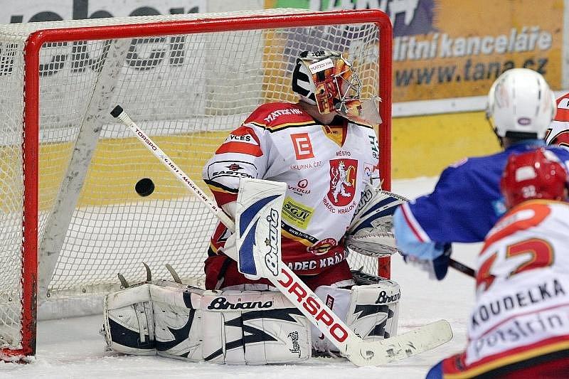 HC VCES Hradec Králové - KLH Chomutov 3:2.