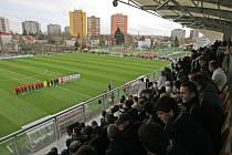 ¨Zrekonstruované tréninkové centrum Bavlna pro mladé fotbalisty v Hradci Králové na Bavlně.