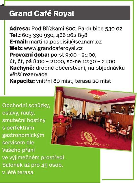 Grand Café Royal, Pardubice
