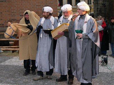 Živý betlém Oblastní charity Hradec Králové