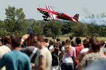 Letecká přehlídka International Flying Display (IFD) na hradeckém letišti o víkendu 13. - 14. června 2009.