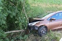 Opilá řidička narazila do stromu, způsobila škodu za 180 tisíc