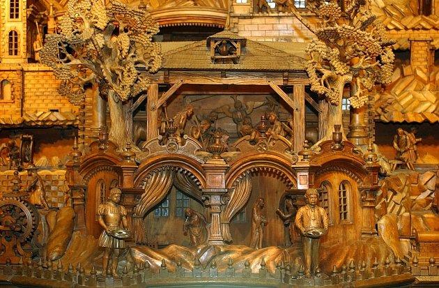 Proboštův betlém v Třebechovicích