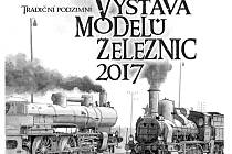 Pozvánka na výstavu modelů železnic.