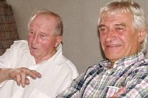 Zleva Josef Souček a Ladislav Škorpil.