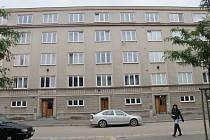 Práce Ladislava Zívra v hradecké Čelakovského ulici.
