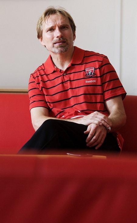 Tomáš Martinec z královéhradeckého hokejového klubu.
