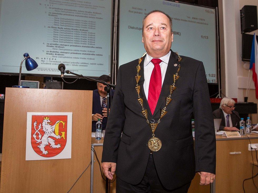 Ustavující zasedání zastupitelstva města Hradec Králové.