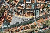Návrh na proměnu Velkého náměstí v Hradci Králové očima architekta Jiřího Krejčíka.