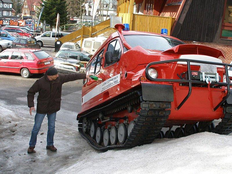 Terénní vozidlo Bobr