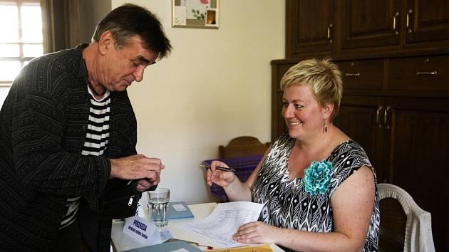 Volby do Evropského parlamentu v Hradci Králové.