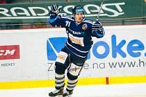 Hokejová extraliga: Mountfield HK - HC Vítkovice Steel.