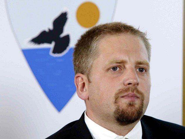 Vít Jedlička, prezident Liberlandu.