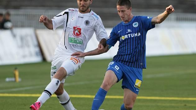 Fotbalová I. Gambrinus liga: FC Hradec Králové - FC Slovan Liberec.