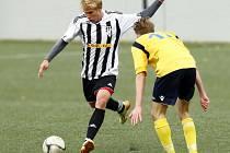Krajský přebor ve fotbale: MFK Nové Město nad Metují - FK Vysoká nad Labem.