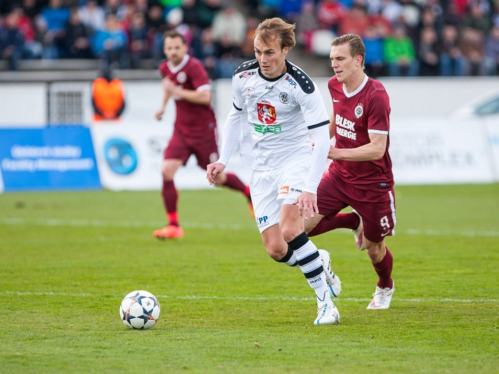 Fotbalová Synot liga: FC Hradec Králové - AC Sparta Praha.
