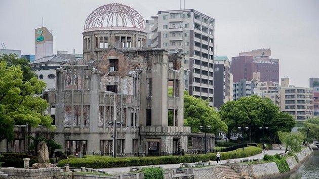 Atomový dóm vHirošimě, dílo českého architekta Jana Letzela