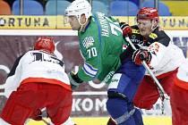 Hokejový Mountfield Cup: Mountfield HK - Salavat Julajev Ufa.