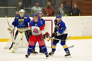 Hokejisté Nového Města v úvodním kole uspěli na ledě Náchoda.