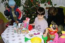 Vánoce v dětském domově v Nechanicích
