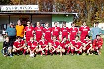 Fotbalisté SK Převýšov B.
