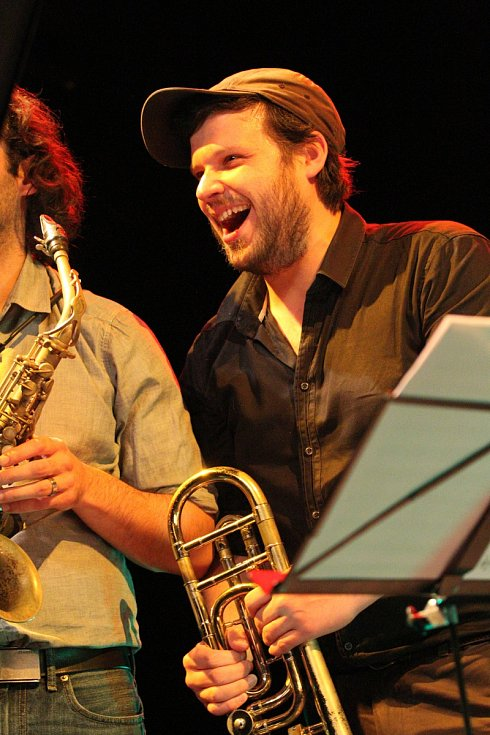 Z průběhu hudebního festivalu Jazz Goes to Town v Hradci Králové.