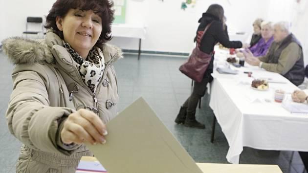 Náhradní komunální volby v Osicích na Královéhradecku.