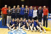 Hradecké basketbalistky dorost.
