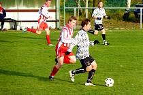 Krajská fotbalová I. A třída: Ohnišov - Nový Hradec Králové.
