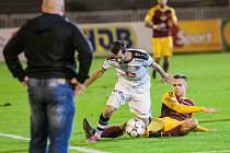Fotbalová Synot liga: FC Hradec Králové - FK Dukla Praha.