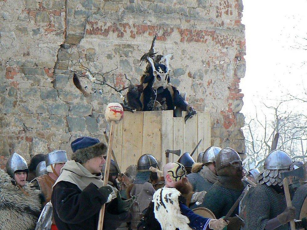 Bitva v Dohalicích v sobotu 16. ledna 2010.