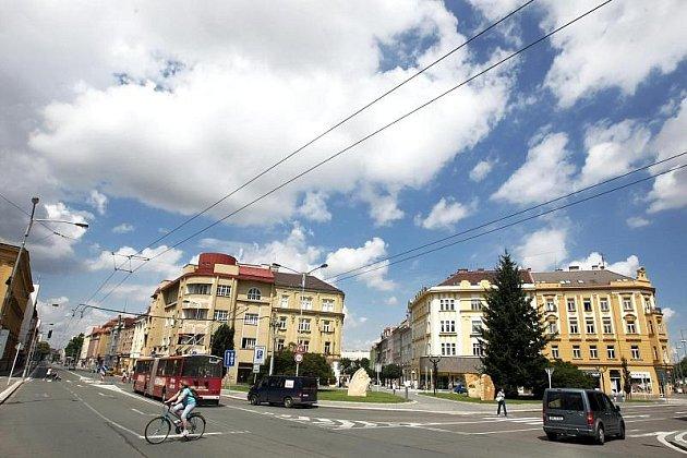 Hradec Králové, Gočárova třída.