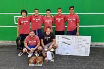 Vítěz 20. ročníku turnaje v malé kopané v Černožicích tým Red Machine.